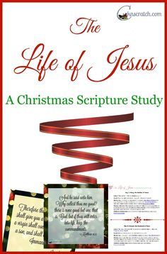 The Life of Jesus: A Christmas Scripture Study