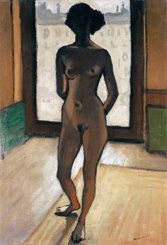 Albert Marquet (French, 1875 - 1947)  Nude against the light (Nu à contre-jour), 1909.