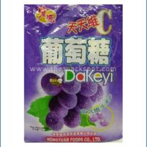 Yummy Chinese Dakeyi Grape Flavored Hard Candy. Available at www.thesnackspot.com