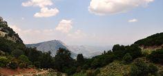 view from SS125 Orientale Sarda between Baunei and Dorgali