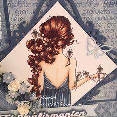 Kristinas kortblogg: Perler i håret