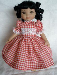 Pattern  for 10 Little Girl Dolls - Patsy and Ann Estelle by Tonner, Bluette,etc.