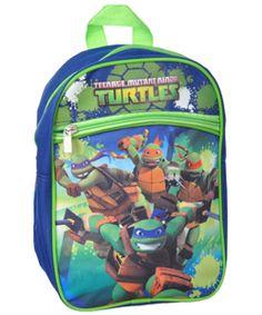 "Teenage Mutant Ninja Turtles ""Push Forward"" Mini Backpack $6.99 They managed to fit every turtle onto this exciting Teenage Mutant Ninja Turtles mini backpack."