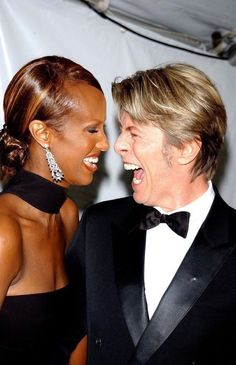 David Bowie and Iman David Jones, Mr And Mrs Jones, Rod Stewart, Mick Jagger, Iman And David Bowie, Bowie Starman, The Thin White Duke, Famous Couples, Hot Couples