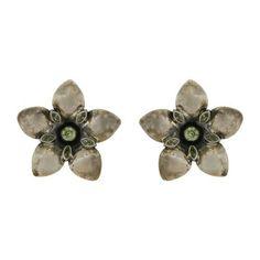 Boucles d'oreilles fleurs en Argent et Péridot - Idée cadeau de ShalinIndia, http://www.amazon.fr/gp/product/B00B1NY3L2/ref=cm_sw_r_pi_alp_yxJerb0YF9KYH