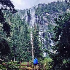 Della Falls, Vancouver Island, BC. See more on the #exploreBC blog: http://blog.hellobc.com/hidden-hikes-on-vancouver-island-with-tomparkr/ (Photo: tomparkr via Instagram) #exploreBC #explorecanada