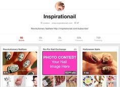Would you like your nails to be the cover nails of the RePin Nail Exchange? Inspirationail does too. :D  #EasyPeasyLemonSqueezyPhotoContest