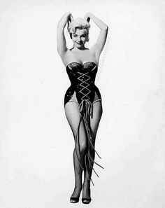 """""""Marilyn Monroe in a publicity photograph for Gentlemen Prefer Blondes. """""""