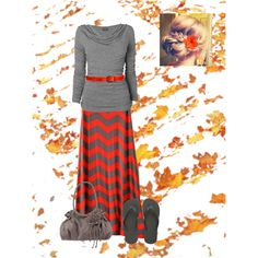"""""""Beautiful Fall Day"""" by dixiegirl-778 on Polyvore No flip-flops, thanks...but I love everything else."""