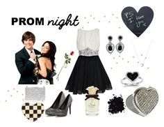 """""""Prom Night II"""" by samy-lady ❤ liked on Polyvore featuring Boohoo, Aspinal of London, Ciner, Hanky Panky, Dolce&Gabbana, Links of London, Marc Jacobs and Kevin Jewelers"""