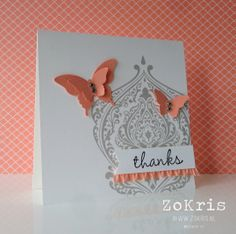 Stampin' Up! - Beautifully Baroque, Hip Hip Hooray Card Kit - ZoKris