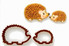 Hedgehog cookie cutters. I just made some hedgie cookies!
