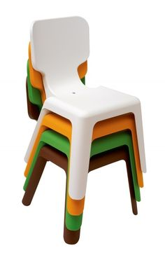 Alma Childrens Chair by Javier Mariscal for Magis Art Furniture, Colorful Furniture, Furniture Design, Children Furniture, Contemporary Childrens Furniture, Baby Room Design, Kartell, Luminaire Design, Room Accessories