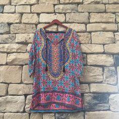 Tolani Tunic Very colorful Tops Tunics
