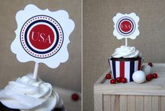Fourth of July printables on I Heart Nap Time