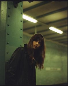 Photos by Via Curator: Cinematic Photography, Urban Photography, Film Photography, Creative Photography, Street Photography, Editorial Photography, U Bahn Station, Photographie Portrait Inspiration, Night Portrait