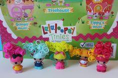 #Lalaloopsy Tinies Series 3 with Hair #Unboxing #LalaloopsyTinies