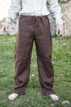 17% DISCOUNT Men's Classic Pants Linen Pants Medieval by armstreet
