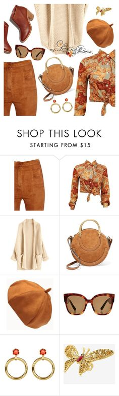 """The daily look"" by dressedbyrose ❤ liked on Polyvore featuring Balmain, Chloé, Gucci, Trina Turk, Express, ootd, Dailylook and polyvoreeditorial"