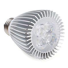 E27 5-LED 450-500LM 6000-6500K White LED Spot Bulbs (85-265V) – USD US$ 10.49