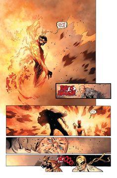 Legendary Marvel Character Dies in AVENGERS VS X-MEN #11 - Comic Vine