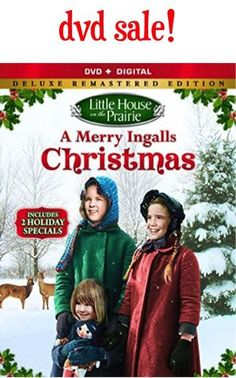 Score another Christmas classic with this Little House on the Prairie 'A Merry Ingalls Christmas' DVD Sale: $5.00!!