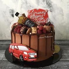 Ванильный с малиной)) Beautiful Cakes, Amazing Cakes, Brithday Cake, Royal Icing Cakes, Party Like Its 1999, Birthday Cakes For Men, Drip Cakes, Sugar Art, Cake Decorating