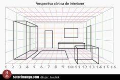 Mi aporte a las lecciones de dibujo de escenarios es hablar un poco de la perspectiva cónica enfocada a dibujo de interiores. Sólo espero qu...