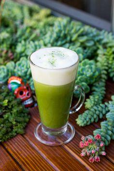 How to make a matcha green tea latte