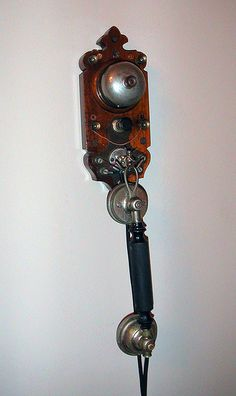 Telephone from 1910s or 20s in Barcelona