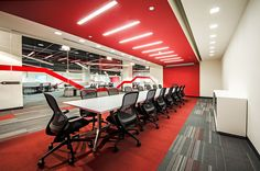 Lenovo, Mexico by Contract Workplaces. # Meeting room. # Feature band