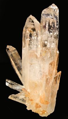 Golden Quartz w/ multiple points