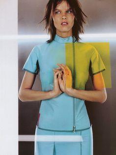 Prada -  Jean-Baptiste Mondino for Vogue Paris February 1999