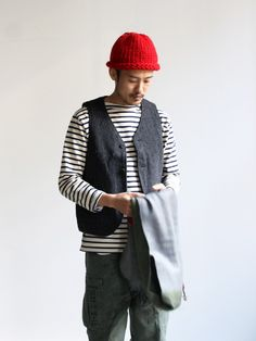 Asian Style, Work Wear, Men's Fashion, Winter Hats, Men Sweater, Collections, Cool Stuff, My Style, Sweaters