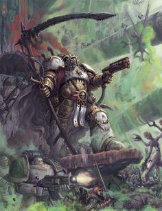mortarion primarch lore