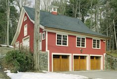 What an awesome restoration job on this old barn!  This thing looks impeccable.