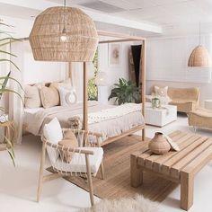 Interior Living Room Design Trends for 2019 - Interior Design Home Decor Bedroom, Interior Design Living Room, Living Room Designs, Living Room Decor, Dining Room, Beach Interior Design, Living Room Natural Decor, Ibiza Style Interior, Bali Bedroom