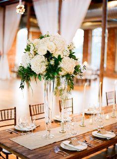 Photography: Graham Terhune Photography   www.grahamterhune.com Wedding Venue: The Cotton Room   thecottonroomdurham.com Florist: Purple Puddle   www.purplepuddle.com/   View more: http://stylemepretty.com/vault/gallery/27216