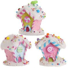 2012 RAZ Candy Wonderland...houses