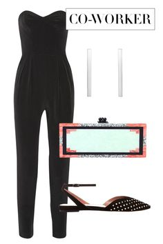 "What you want to convey: ""I know my way around a good jumpsuit, but I am not here to garner too much attention—which is not to say a statement clutch isn't always a good idea."" How to say it: Edie Parker clutch, $1,595, shopBAZAAR.com; Milly jumpsuit, $395, net-a-porter.com; Selin Kent earrings, $715, shopBAZAAR.com; Tabitha Simmons shoes, $845, shopBAZAAR.com.   - HarpersBAZAAR.com"