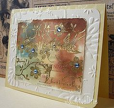 Love this wine label card by Jacqueline!