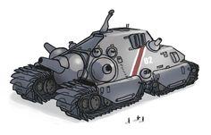 BOLO Tank Redesign by Talros.deviantart.com on @DeviantArt