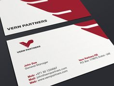 Vern Partners Business Card
