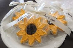 sunflower cookies - Buscar con Google