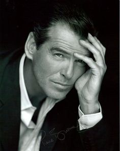 I've used a young Pierce Brosnan to inspire several internatonal heroes in my HPs....including my sophisticated Italian fashion designer, Marco, from Marco's Pride