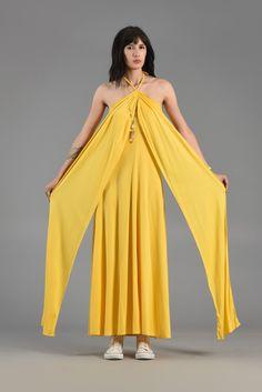 Handmade oversize transformer wrap dress for woman The Monk/'s dress