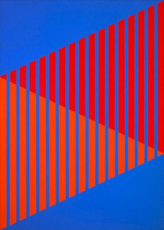 # 2 by Karl Benjamin.............  I want to go back to Elenor Martin's Hard Edge Abstraction