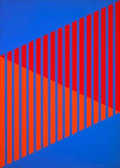 Benjamin, Karl - # 2, Oil on canvas