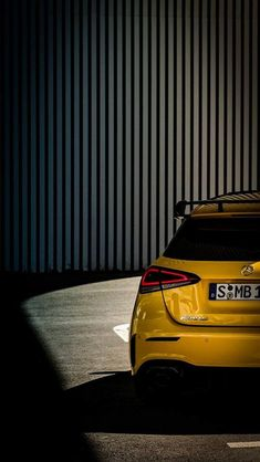 2019 Mercedes-AMG Shows Rear Wing In New Teaser We like what we're seeing so far. The teasing game never stops at Mercedes and that's because the three-pointed star has a vast portfolio. Mercedes A45 Amg, Mercedes Car, A Class Amg, Mercedes Benz Wallpaper, Mercedes A Class, Amg Car, Sports Car Wallpaper, Car Wallpapers, Luxury Cars