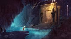 ArtStation - Will Marconi's submission on Ancient Civilizations: Lost & Found - Environment Design